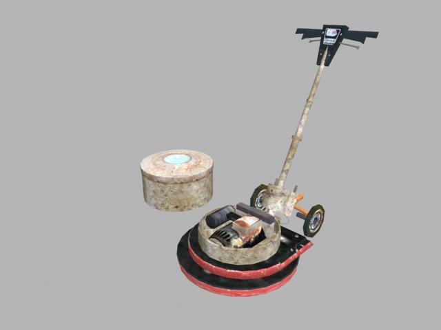 Floor Buffer Model