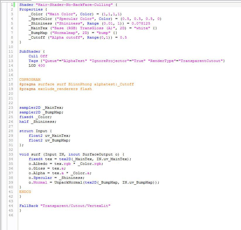 Unity-Backface-Shader-Source-Code